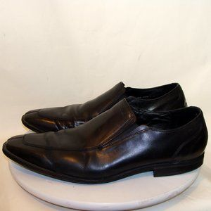 COLE HAAN MENS BLACK LEATHER SHOES LOAFERS SIZE